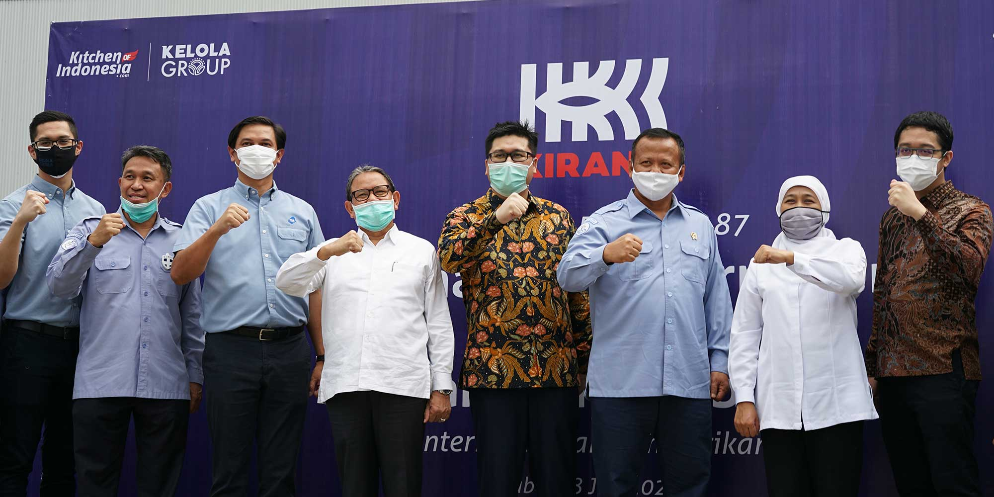 The Minister of Maritime Affairs and Fisheries visited Kirana Food